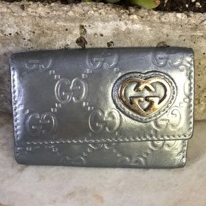 Gucci guccissima 6 key holder/case